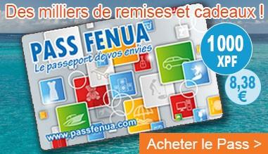 ACHETER LA CARTE PASS FENUA